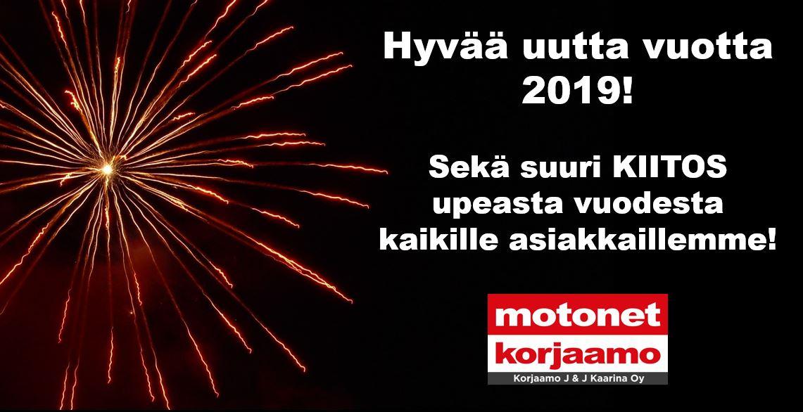 Hyvää uutta vuotta!